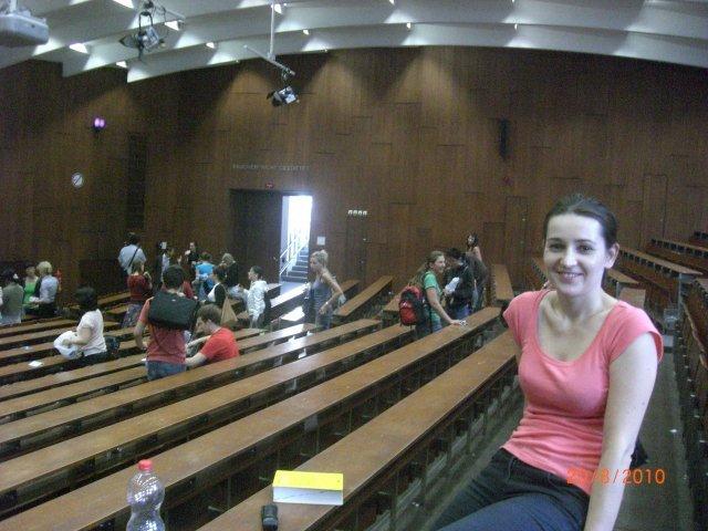 Katarzyna in Hörsaal